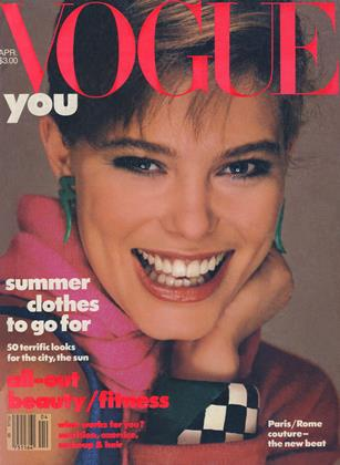 Cover for the April 1984 issue