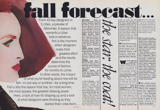 Fall Forecast