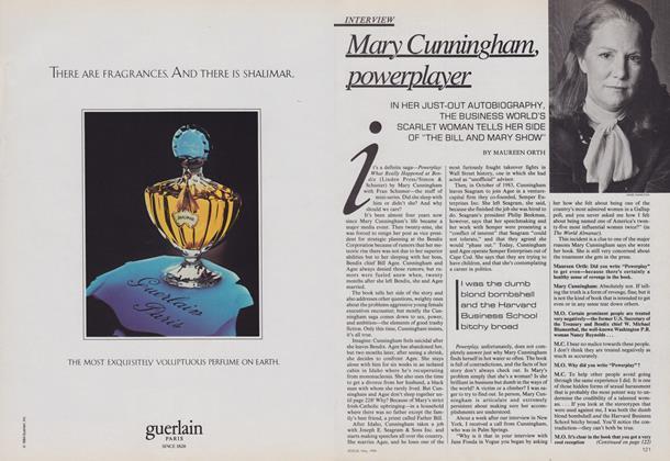 Mary Cunningham, Powerplayer