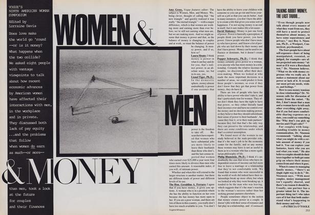 Vogue's Ninth American Woman Symposium: Women & Men & Money