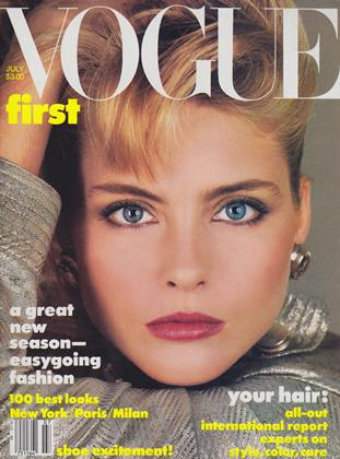 Cover for the July 1984 issue