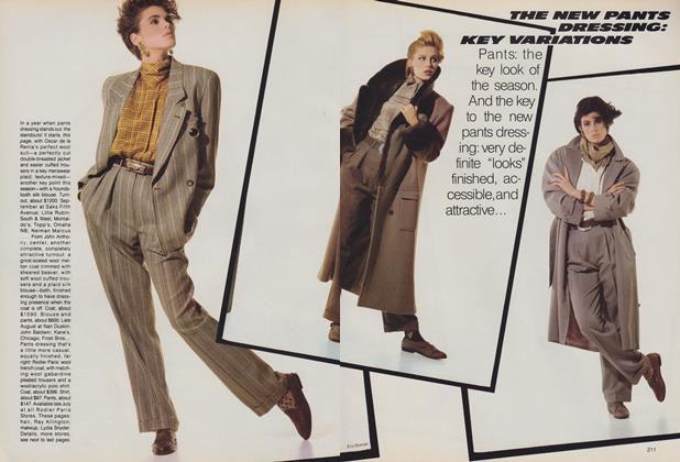 The New Pants Dressing: Key Variations