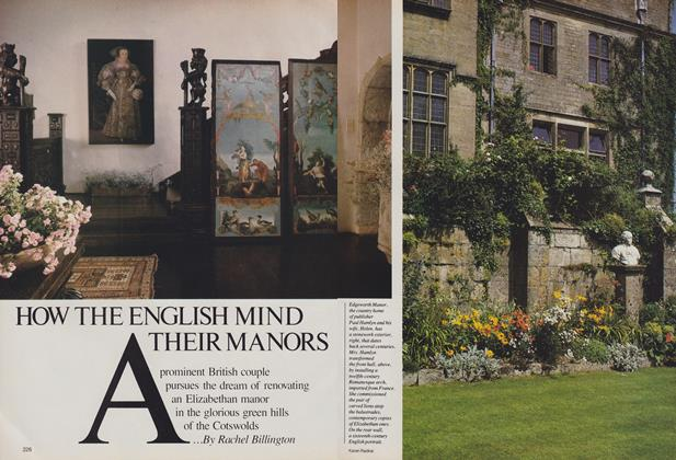 How the English Mind Their Manors