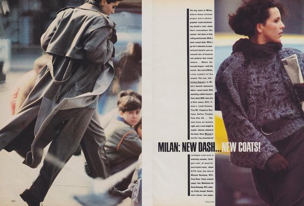 Milan: New Dash...New Coats!