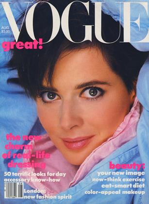 Cover for the August 1984 issue
