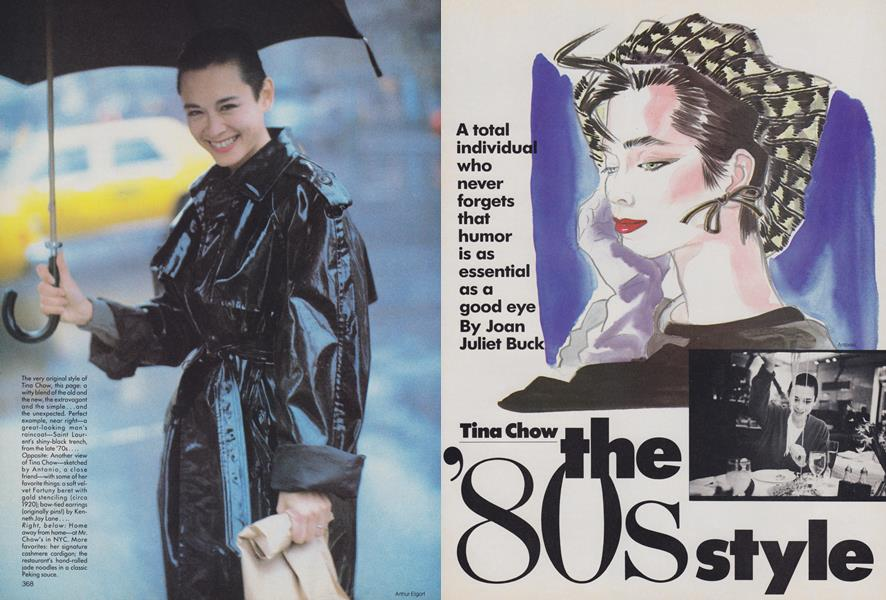 Tina Chow: The '80s Style