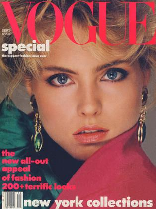 Cover for the September 1984 issue