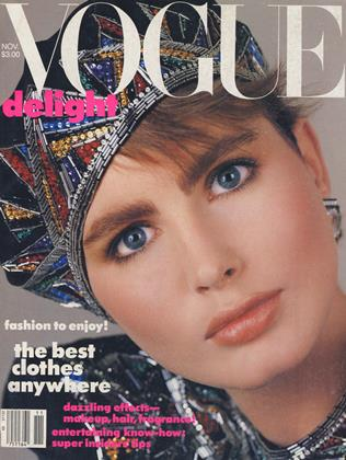 Cover for the November 1984 issue