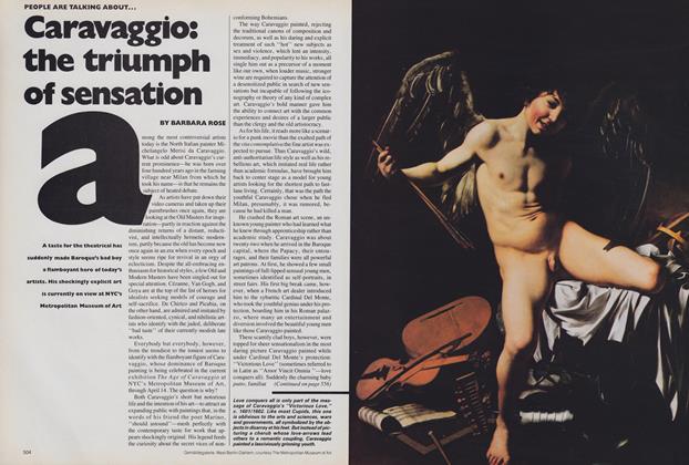Caravaggio: The Triumph of Sensation