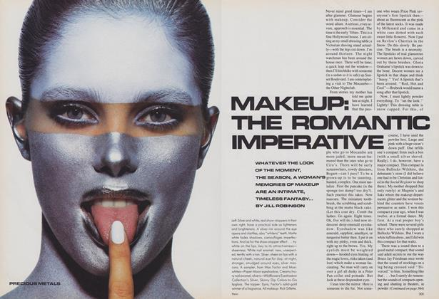 Makeup: the Romantic Imperative