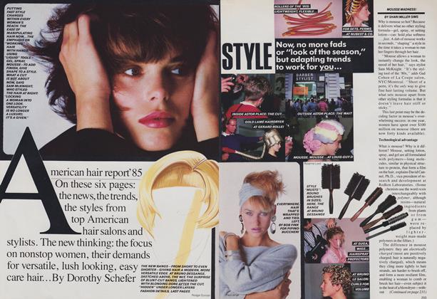 American Hair Report '85