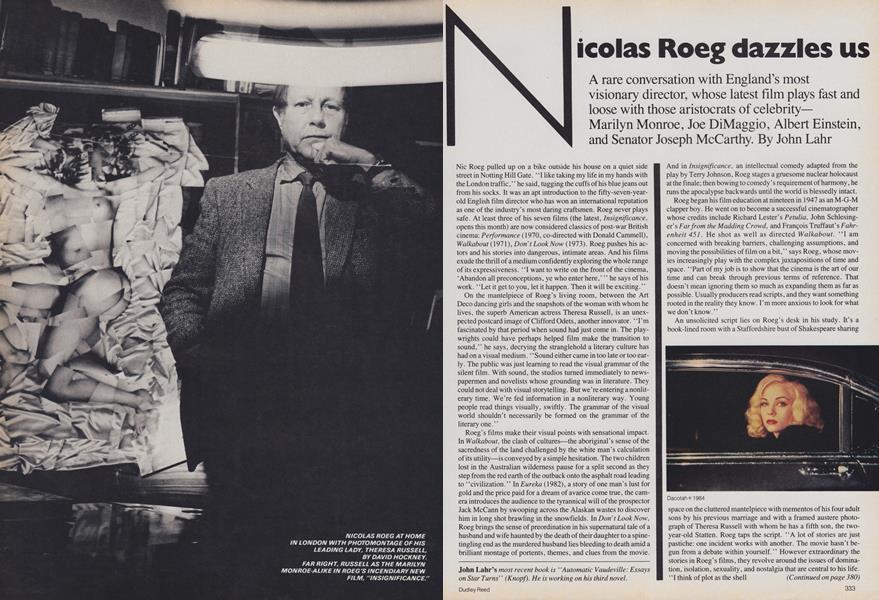 Nicolas Roeg Dazzles Us