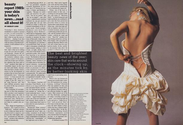 Modern Beauty: Beauty Report 1985