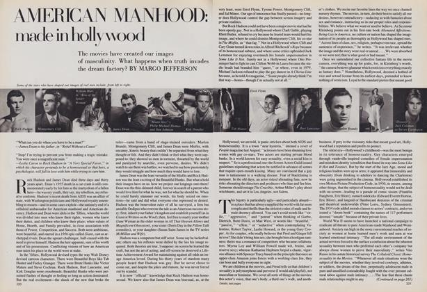 American Manhood: Made in Hollywood