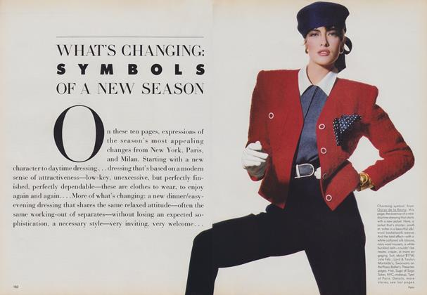 What's Changing: Symbols of a New Season