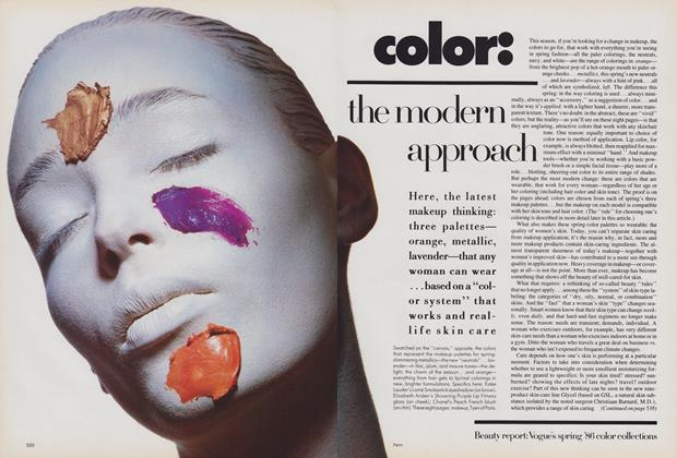 Color: the Modern Approach/Lingerie: A New Understatement