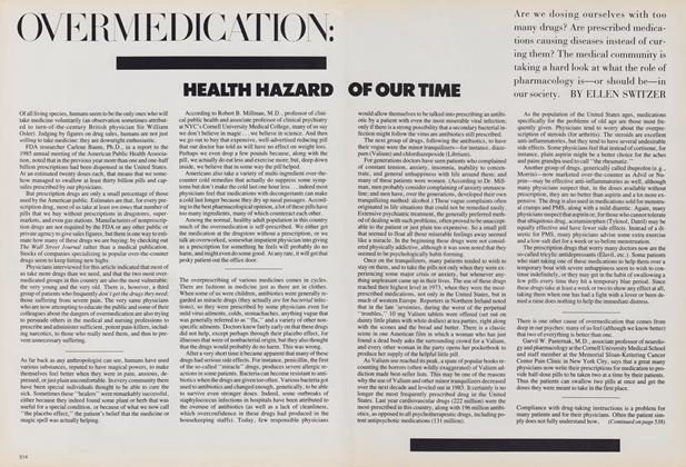 Over Medication: Health Hazard of Our Time