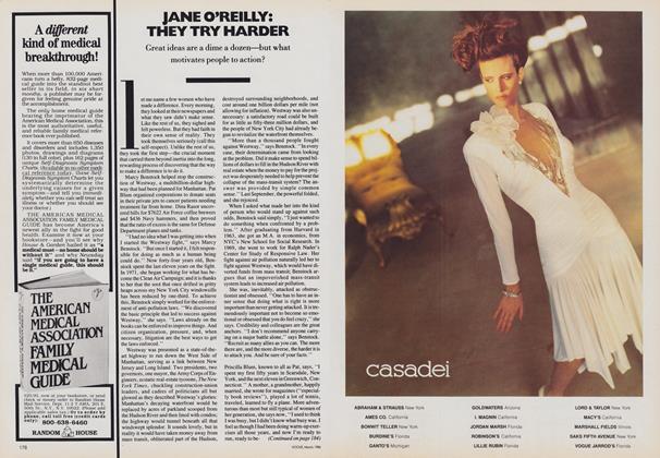 Jane O'Reilly: They Try Harder
