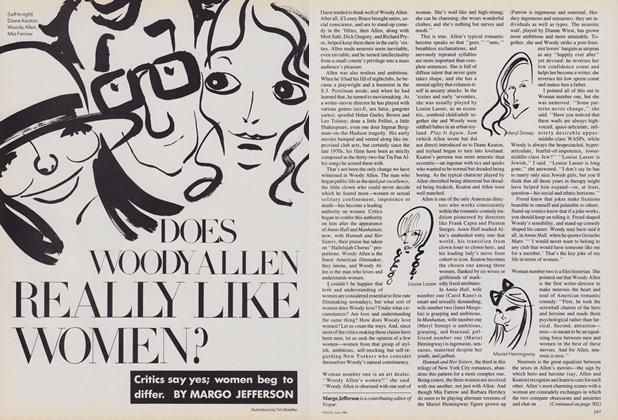 Does Woody Allen Really Like Women?