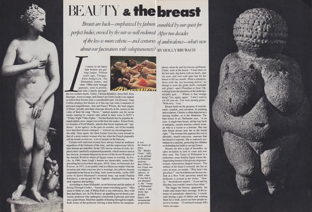 Article Preview: Beauty & the Breast, July 1986 | Vogue