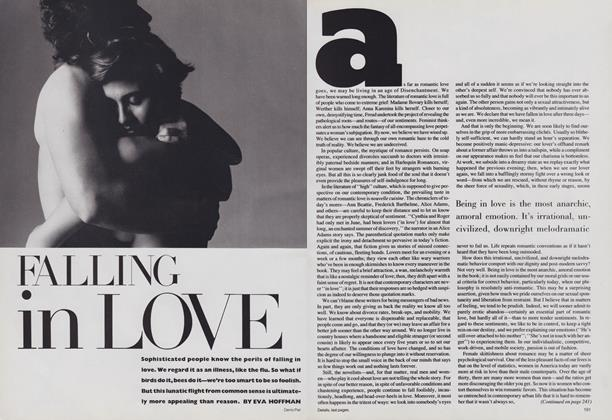 Article Preview: Falling in Love, July 1986 | Vogue
