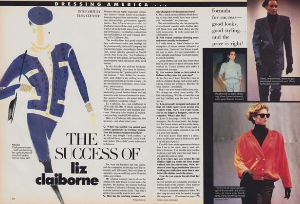 Dressing America: The Success of Liz Claiborne