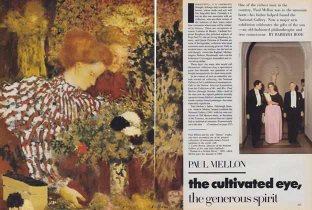 Paul Mellon: The Cultivated Eye, the Generous Spirit