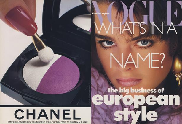 What's In a Name? Behind the Label–An Insider's Guide to European Style