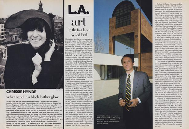 L.A.: Art in the Fast Lane