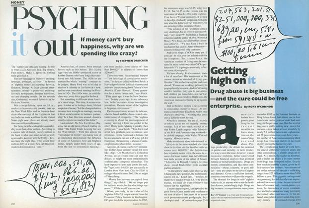 Article Preview: Money: Psyching It Out, January 1987 | Vogue