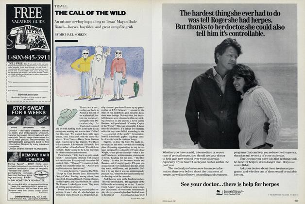 Article Preview: The Call of the Wild, March 1987 | Vogue
