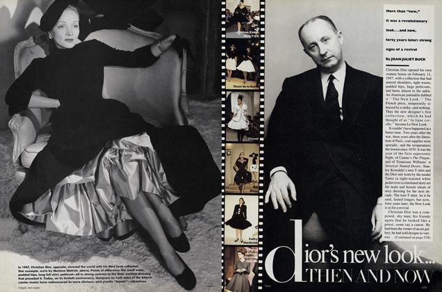 Article Preview: Dior's New Look: Then and Now, March 1987 | Vogue