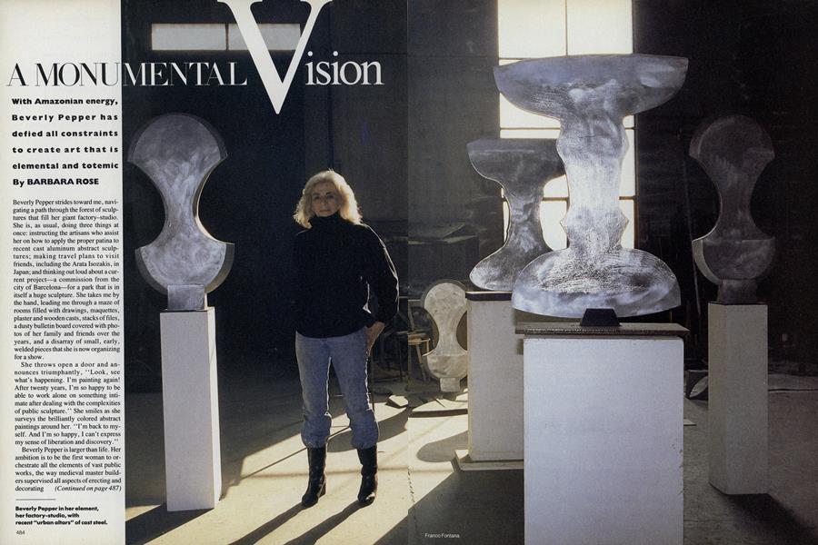 A Monumental Vision