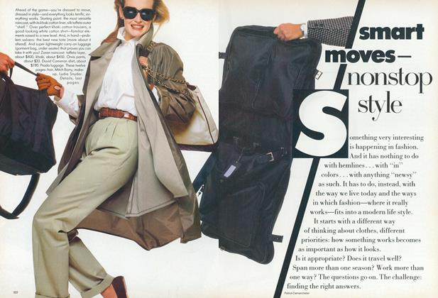 Article Preview: Smart Moves—Nonstop Style, April 1987 | Vogue