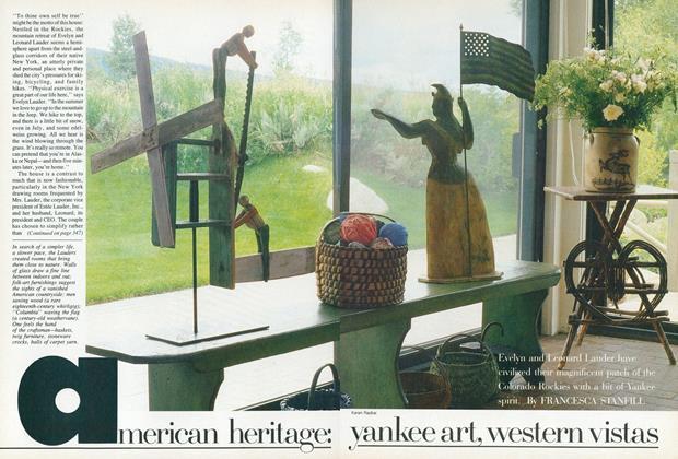 American Heritage: Yankee Art, Western Vistas