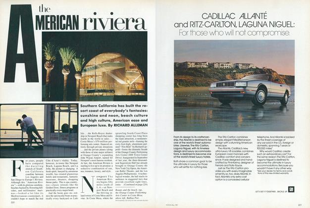 Article Preview: The American Riviera, May 1987 | Vogue