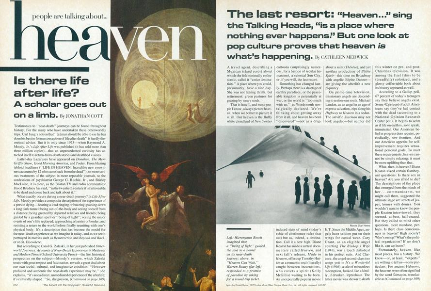 People Art Talking About Heaven: Is There Life After Life?