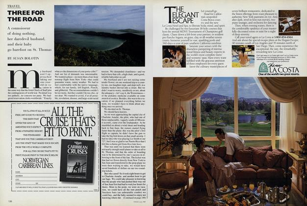 Article Preview: Three for the Road, June 1987 | Vogue