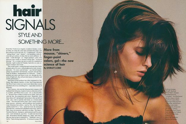 Article Preview: Hair Signals: Style and Something More, July 1987 | Vogue