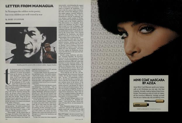 Article Preview: Letter from Managua, August 1987 | Vogue