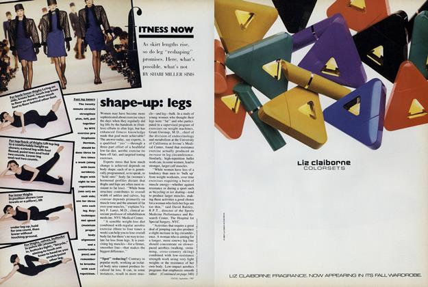 Shape-up: Legs