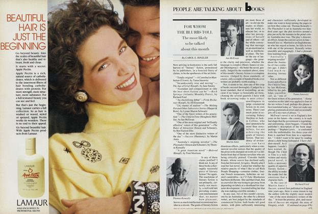 Article Preview: Books: For Whom the Blurbs Toll, September 1987 | Vogue