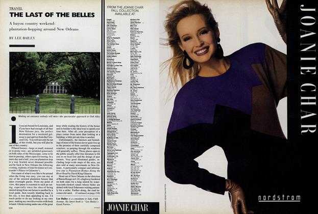 Article Preview: The Last of the Belles, September 1987 | Vogue