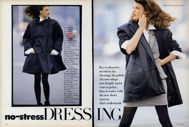 Article Preview: No-Stress Dressing, September 1987 | Vogue