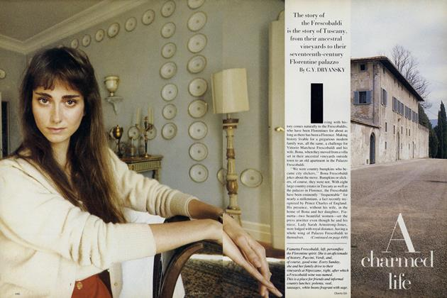 Article Preview: A Charmed Life, October 1987 | Vogue