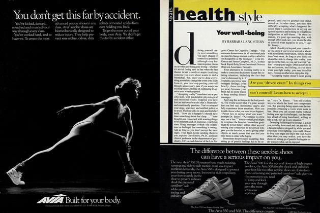 Article Preview: Your Well-Being, October 1987 | Vogue