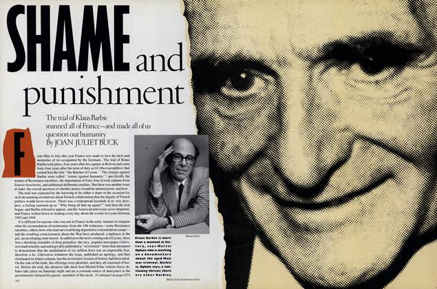 Article Preview: Shame and Punishment, November 1987 | Vogue