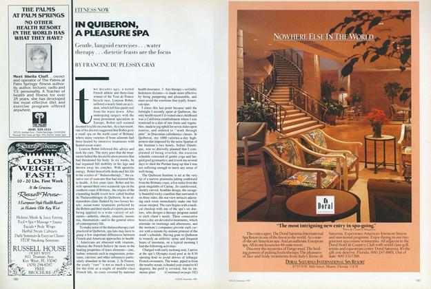 Article Preview: In Quiberon, a Pleasure Spa, December 1987 | Vogue