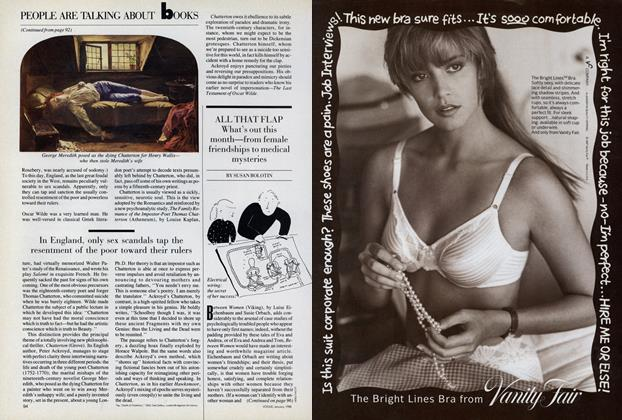 Article Preview: Books: All that Flap, January 1988 | Vogue