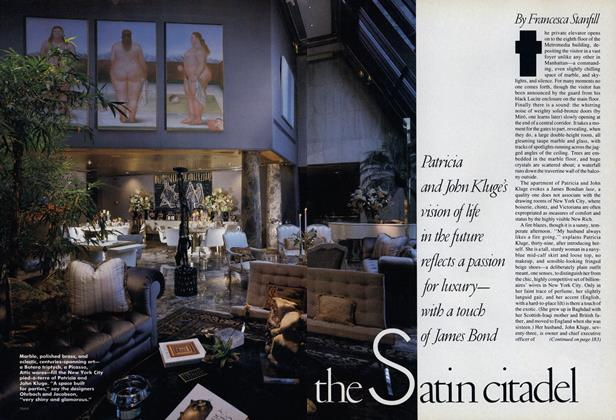 Article Preview: Satin Citadel, January 1988 | Vogue